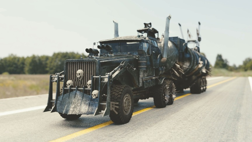 Mad Max le jeu!